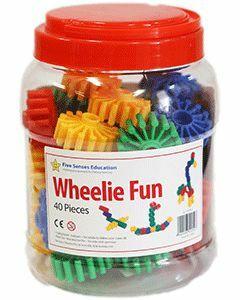 Wheelie Fun 40 pieces (Ages 3+)