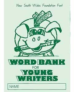 Word Bank for Young Writers NSW font