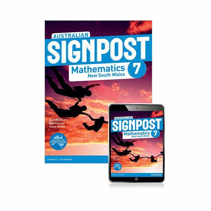 Australian Signpost Mathematics New South Wales 7 Student Book with Reader+