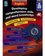 Developing comprehension skills and word knowledge Year 6